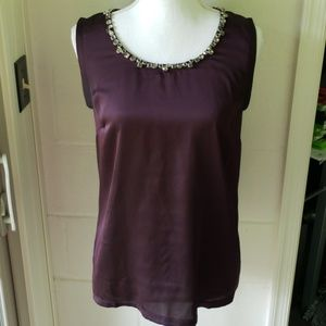 Ann Taylor Jewel Tank Size Small